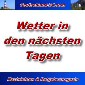 7-Tage-Wetter in Deutschland