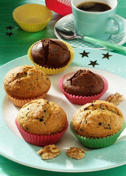 Weihnachts-Muffins