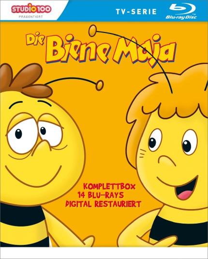 BD-Cover Die Biene Maja komplett