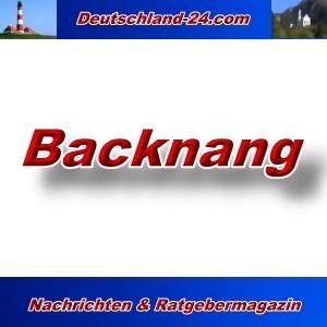 Deutschland-24.com - Backnang - Aktuell -
