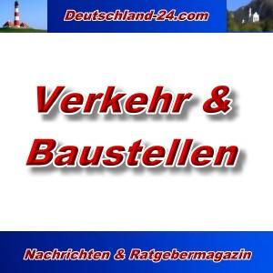Deutschland-24.com - Verkehr und Baustellen - Aktuell -