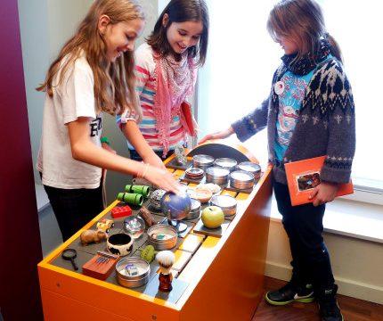 Dokumentation Sammler- und Stiftermuseum, Kinderspur, 28.09.2012