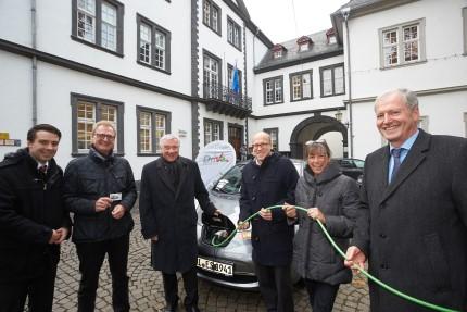 EVM präsentiert Elektrofahrzeug