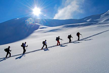 Damit Ihre Skitour mit Sicherheit zum VergnŸgen wird!