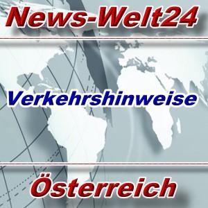 News-Welt24 - Verkehrshinweise Österreich - Aktuell -