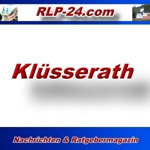 RLP-24 - Klüsserath - Aktuell -