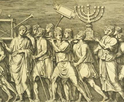 Titusbogen_Radierung_Kupferstich_Francois_Perrier_1645