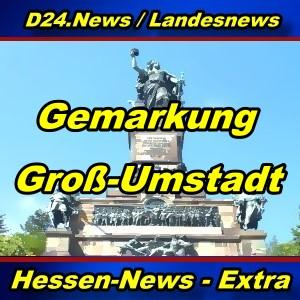 Hessen-News - Gemarkung Groß-Umstadt - Aktuell -