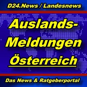 Landesnews - Aus dem Ausland - Österreich - Aktuell -