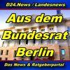 Landesnews - Aus dem Bundesrat - Aktuell -