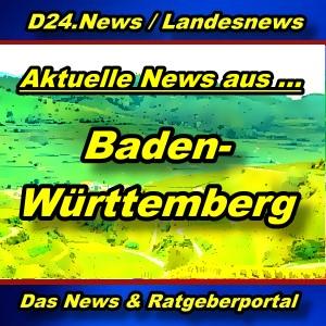 Landesnews - News aus Baden-Württemberg -