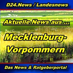 Landesnews - News aus Mecklenburg-Vorpommern -