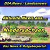 Landesnews - News aus Niedersachsen -