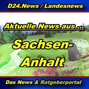 Landesnews - News aus Sachsen-Anhalt -