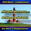 Landesnews - News aus Schleswig-Holstein -