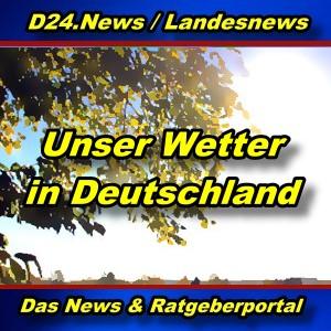 Landesnews - Wetterbericht für Deutschland - Aktuell -