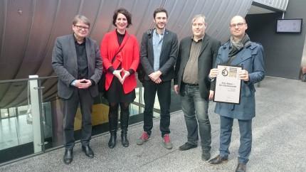 German Design Award ausgezeichnetes Team