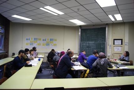 Deutsch-Kurse für Flüchtlinge