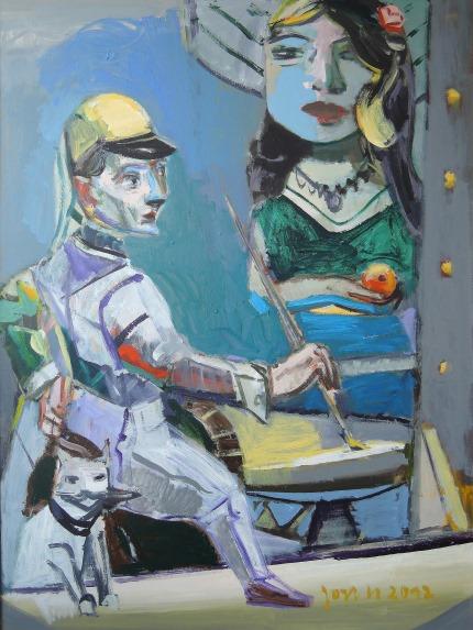 Jost Heyder_Der Maler II, 2012