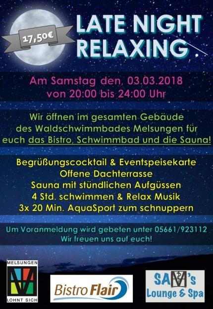 LATE NIGHT RELAX FERTIIG