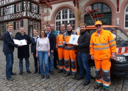 Auszeichnung-Saubermacherstadt 2017