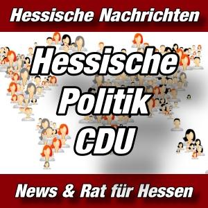 Hessische-Nachrichten - Hessische Politik-CDU - Aktuell -