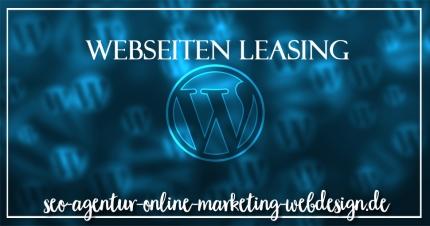 Webseiten Leasing - Die neue Idee